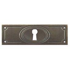 ŠTÍTEK RAŽENÝ 31x97mm s otvorem pro klíč