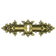 ŠTÍTEK RAŽENÝ 39x116mm s otvorem pro klíč