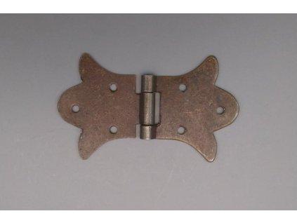 ŽELEZNÝ OZDOBNÝ PANT 85x52x7mm