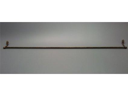 Rustikální závěsná tyč