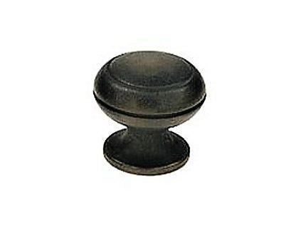 CELOMOSAZNÁ KNOPKA Ø 21 mm - litá mosaz