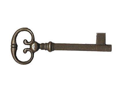 Klíč pro zámek Z97, Z06 (povrchová úprava mosazná patina), l=80mm