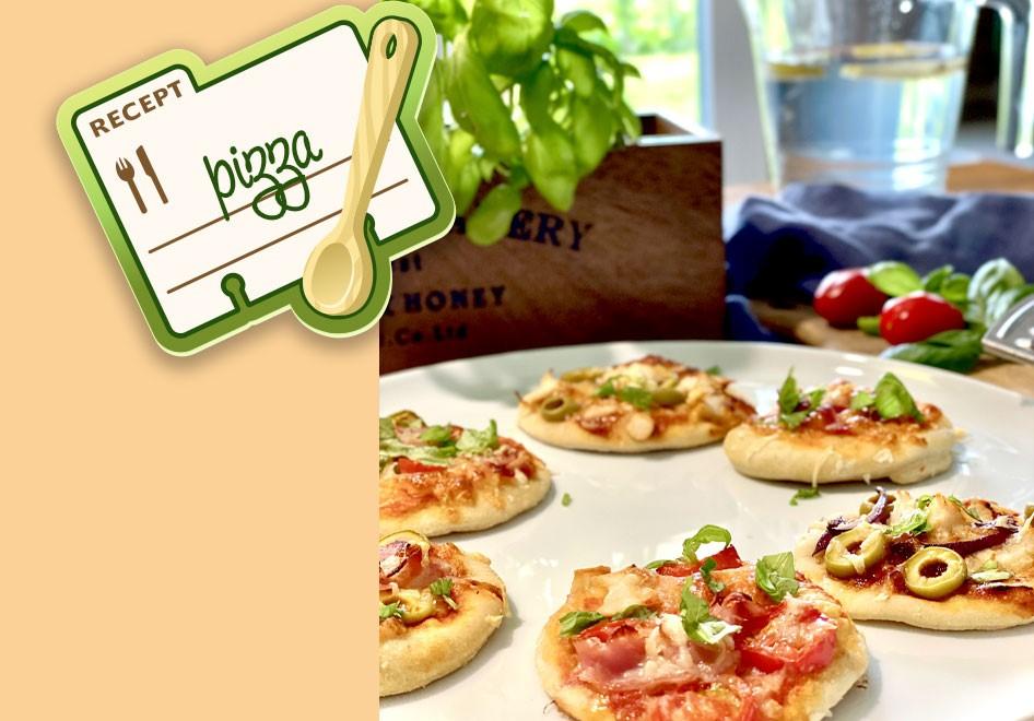 Dětská mini pizza od 1. roku života