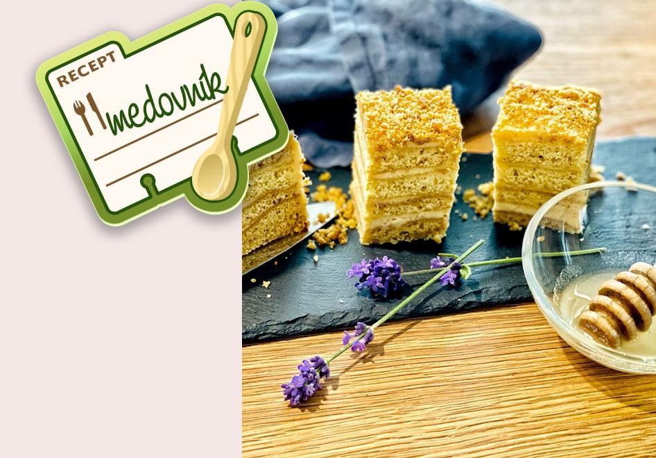 Domácí marlenka - Jak na medovník pro děti