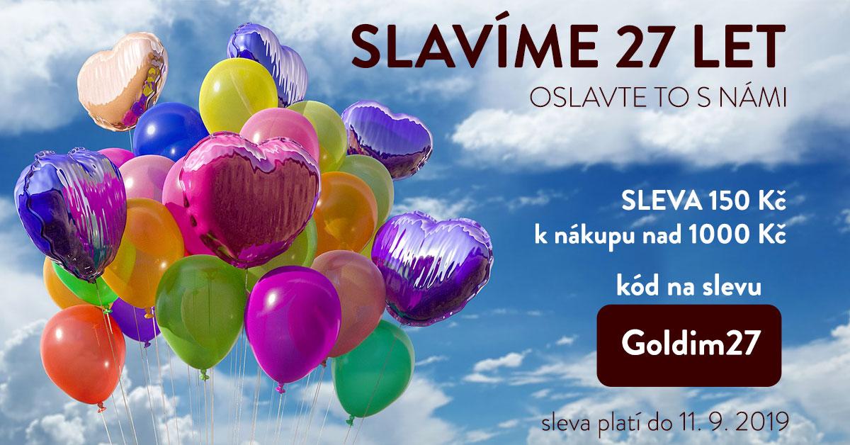 Slavíme narozeniny, oslavte je s námi!!!