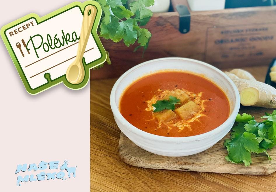 Rajčatová polévka pro děti od 12 měsíců