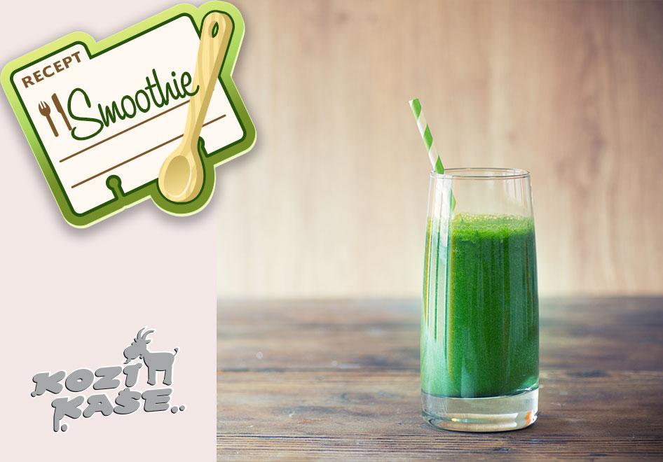 Osvěžující smoothie a DETOX recepty z kozích kaší a zeleného ječmene pro děti i dospělé