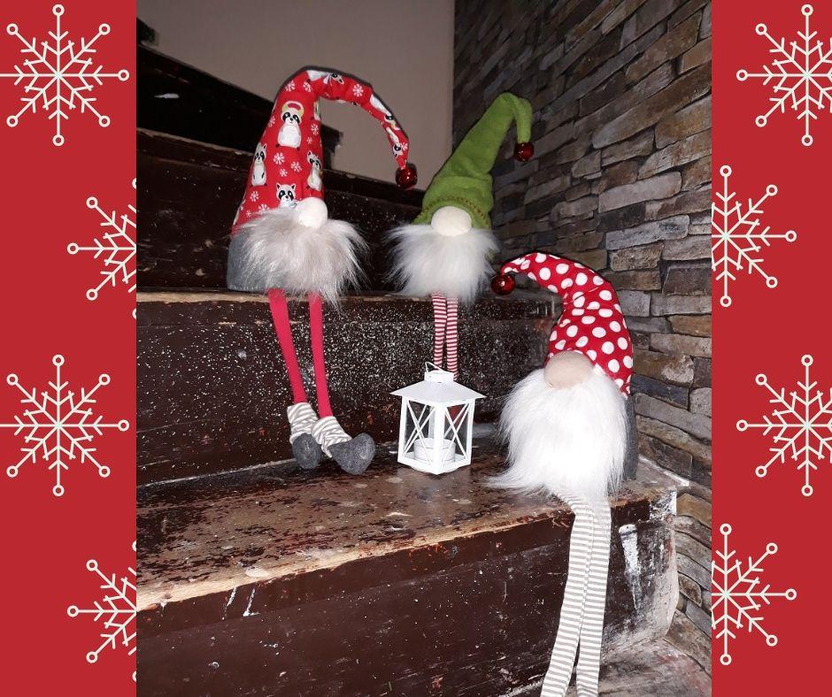 Vánoční skřítek - tvoření