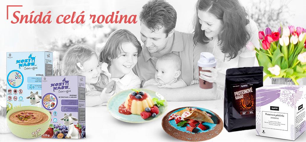 Zdravé snídaňové kaše pro celou rodinu na 5 dnů výhodně s bonusy navíc!