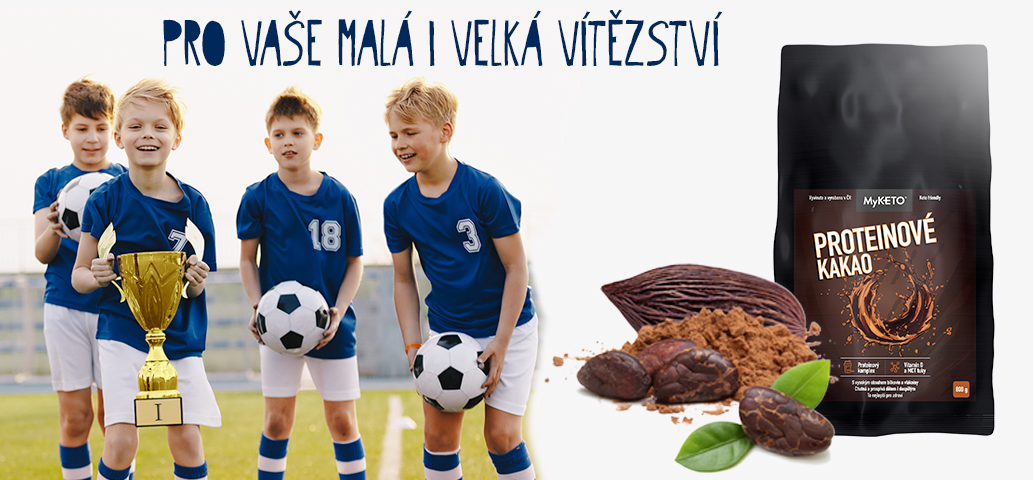 Proteinové kakao pro vaše malá i velká vítězství