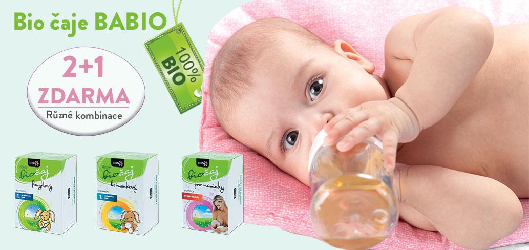 Bio čaje v akci! Za výjimečnou cenu bio dětské čaje a bio nápoje pro děti
