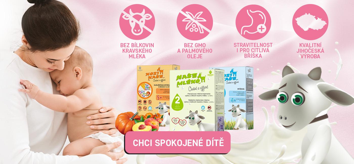Objevte výhody tradiční kozí kojenecké výživy
