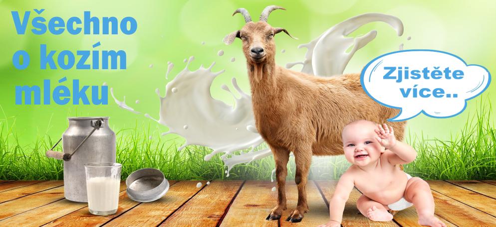 Vše o kozím mléku | Přednosti a rozdíly kozí kojenecké stravy