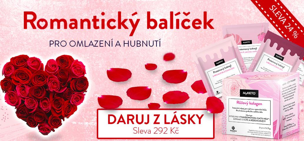 Hledáte Valentinský dárek? Darujte Romantický balíček!