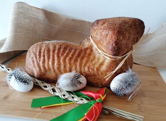 Jemný velikonoční beránek, low carb recept