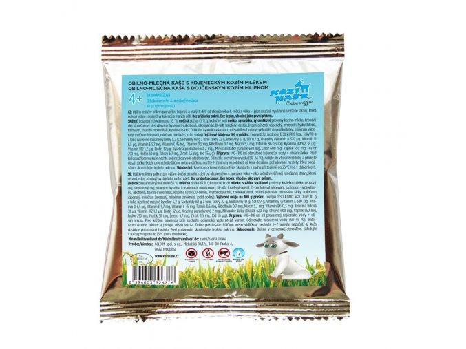 rýžová kozí kaše kojenecká obilno mléčná goldim nase mleko