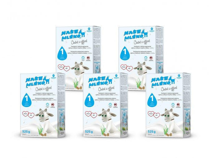 mleko 1 krabice multipack