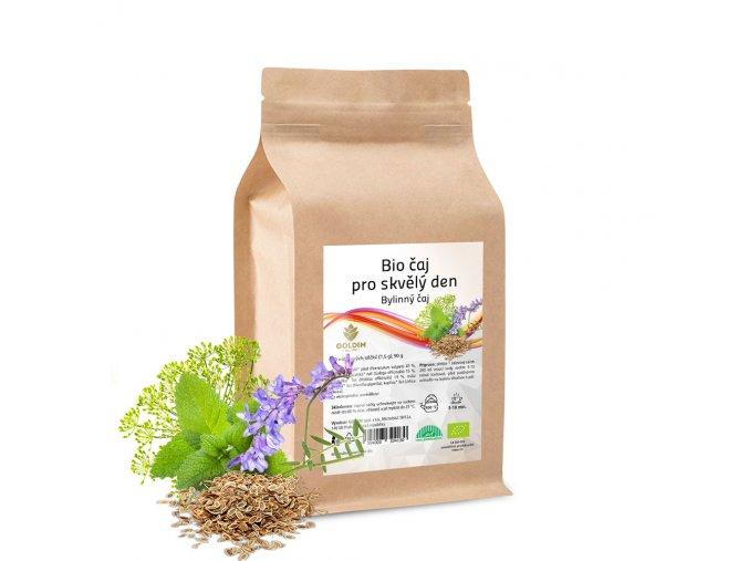 BIO čaj bylinný pro skvělý den 60 sáčků x 1,0 g