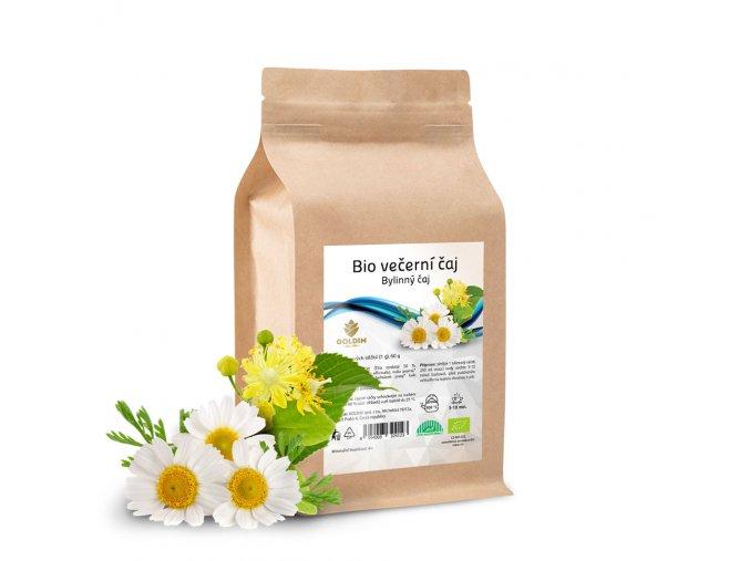 BIO čaj bylinný večerní 60 sáčků x 1,0 g