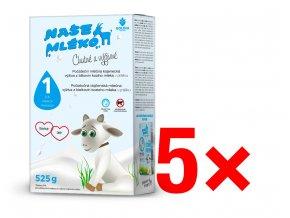 DHA nova krabice mleko 1 krabice multipack