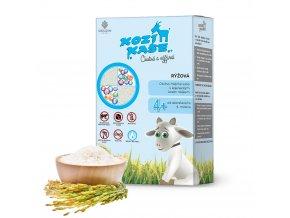 KOZÍ KAŠE Rýžová 225 g goldim nase mléko kojenecká kaše pro miminko