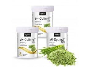 pH Optimal forte Ječmen Spirulina Chlorella 200 tablet, 130g
