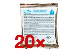 Kojenecké kozí mléko na cesty v porcích 20x15g