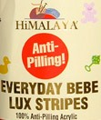 Everyday bebe lux stripes