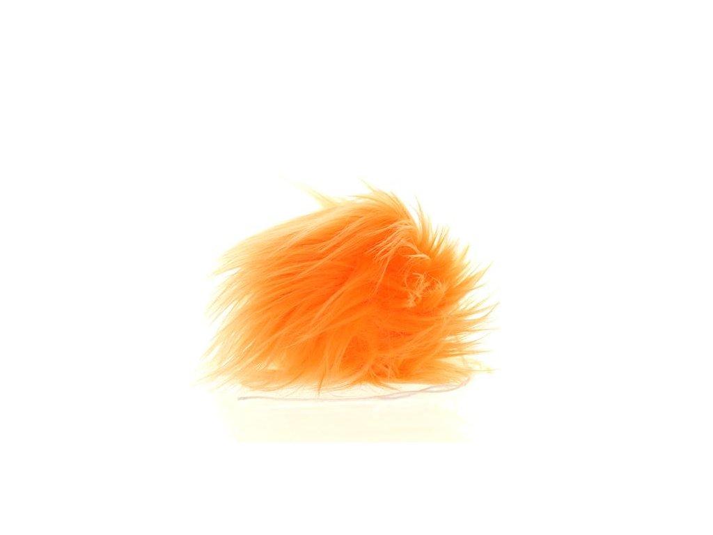 Bambule oranžová 27