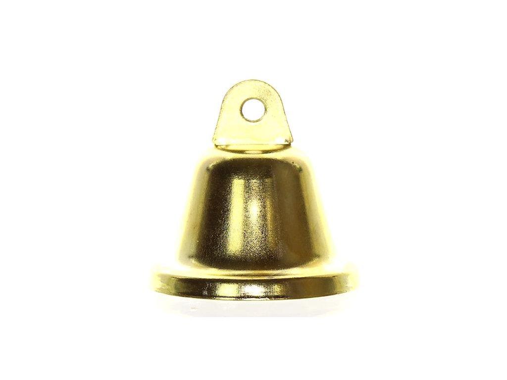 92054 ZVONECEK KOVOVY ZLATY 40 MM