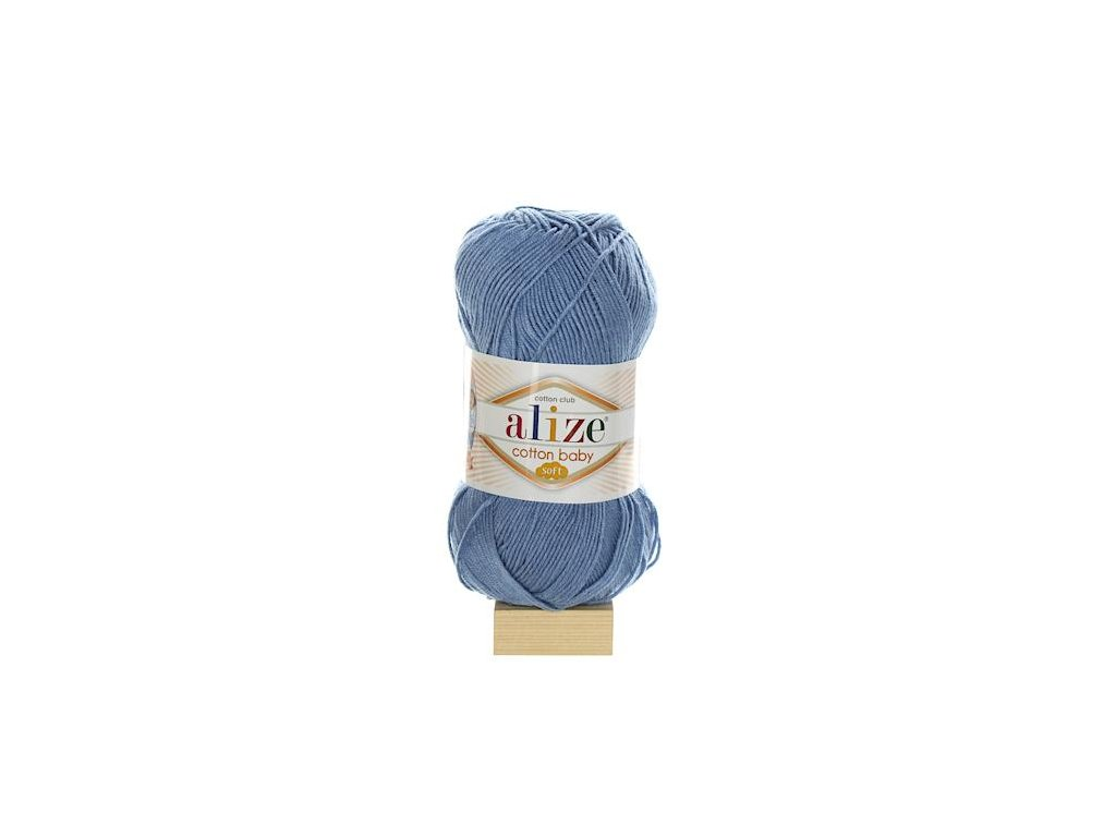 Cotton Baby Soft modrá 374