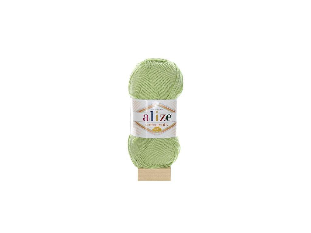 Cotton Baby Soft pistáciová 101
