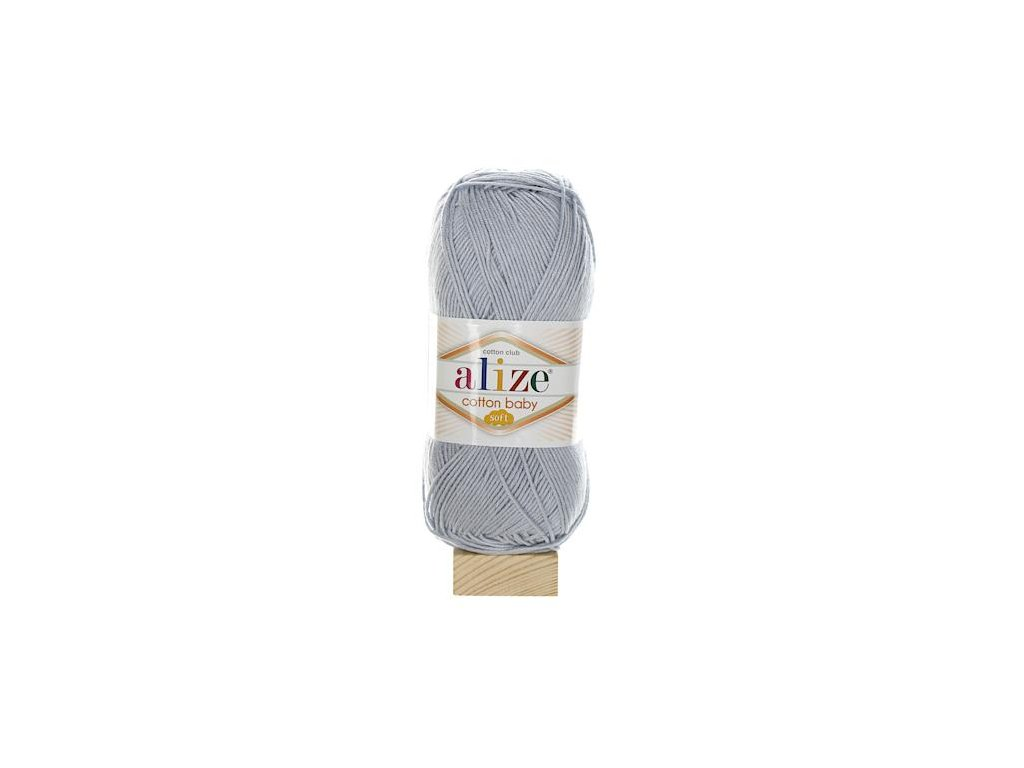 Cotton Baby Soft šedá melange 21