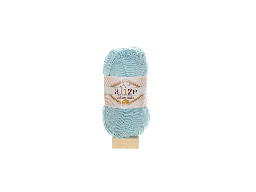 Cotton Baby Soft tyrkysová 335