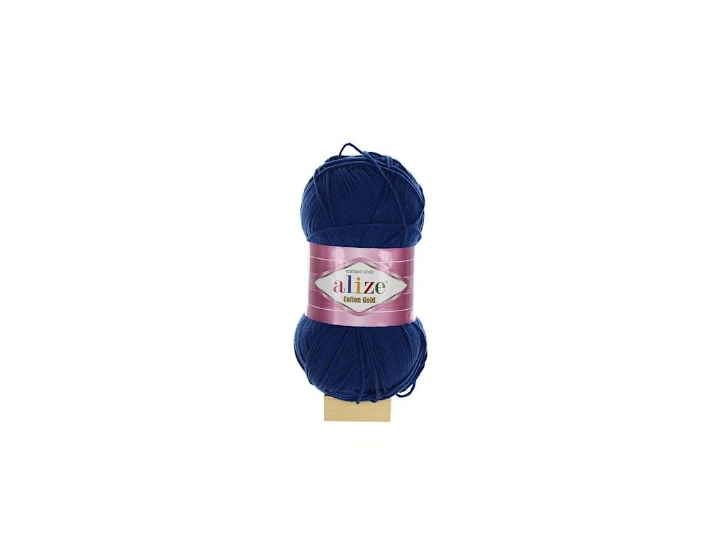 Cotton Gold tmavě modrá 279