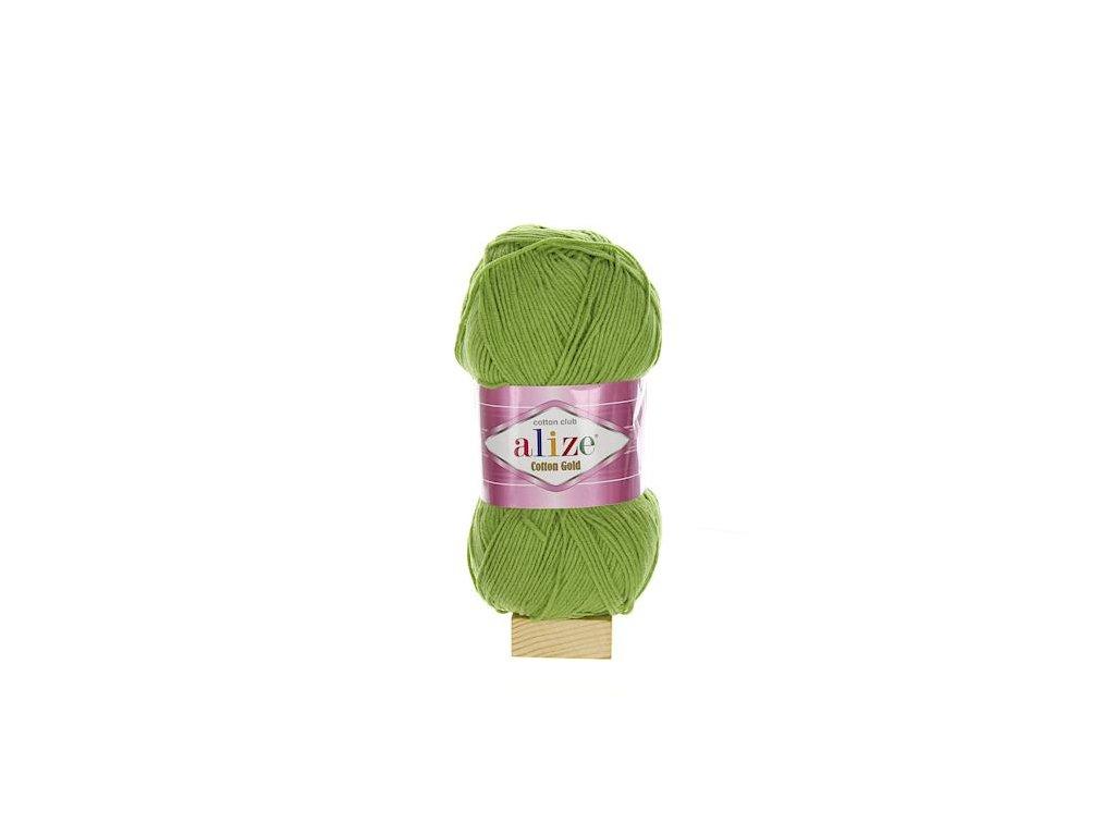 Cotton Gold zelená 385