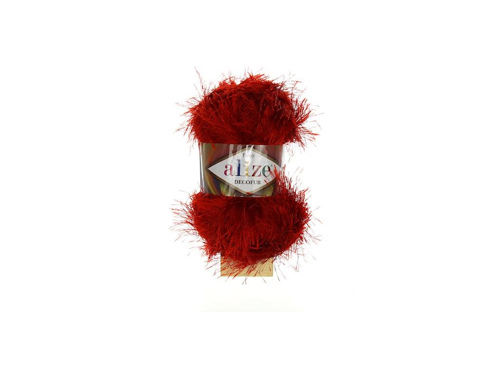 Decofur červená 56