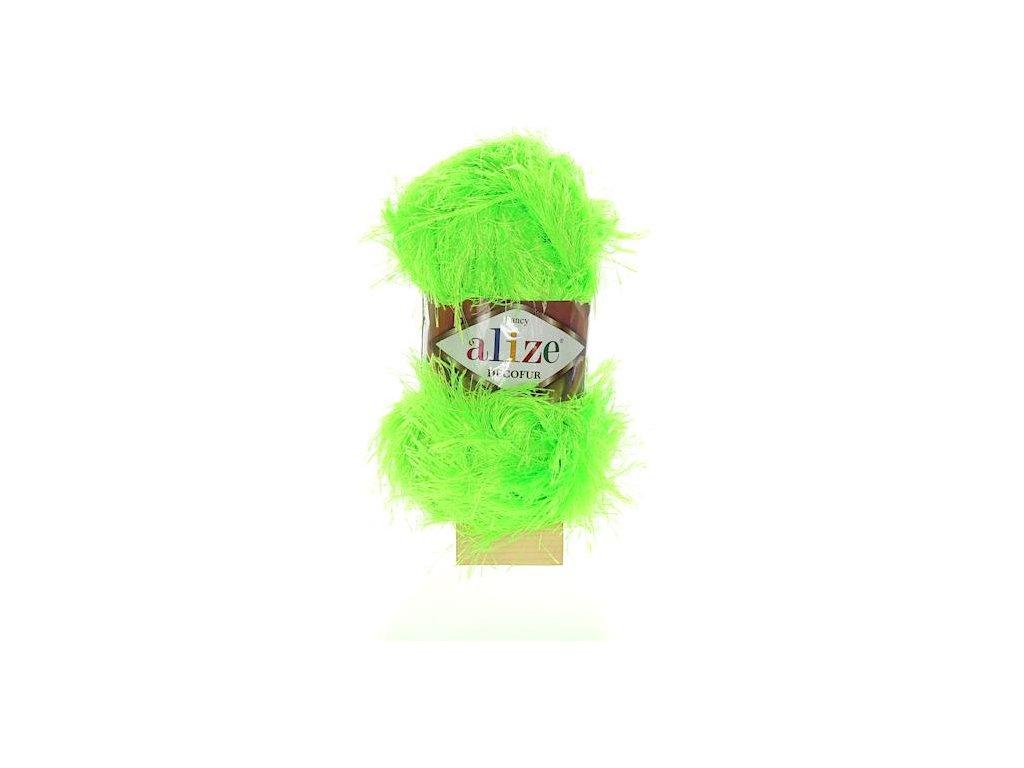 Decofur neon zelená 551
