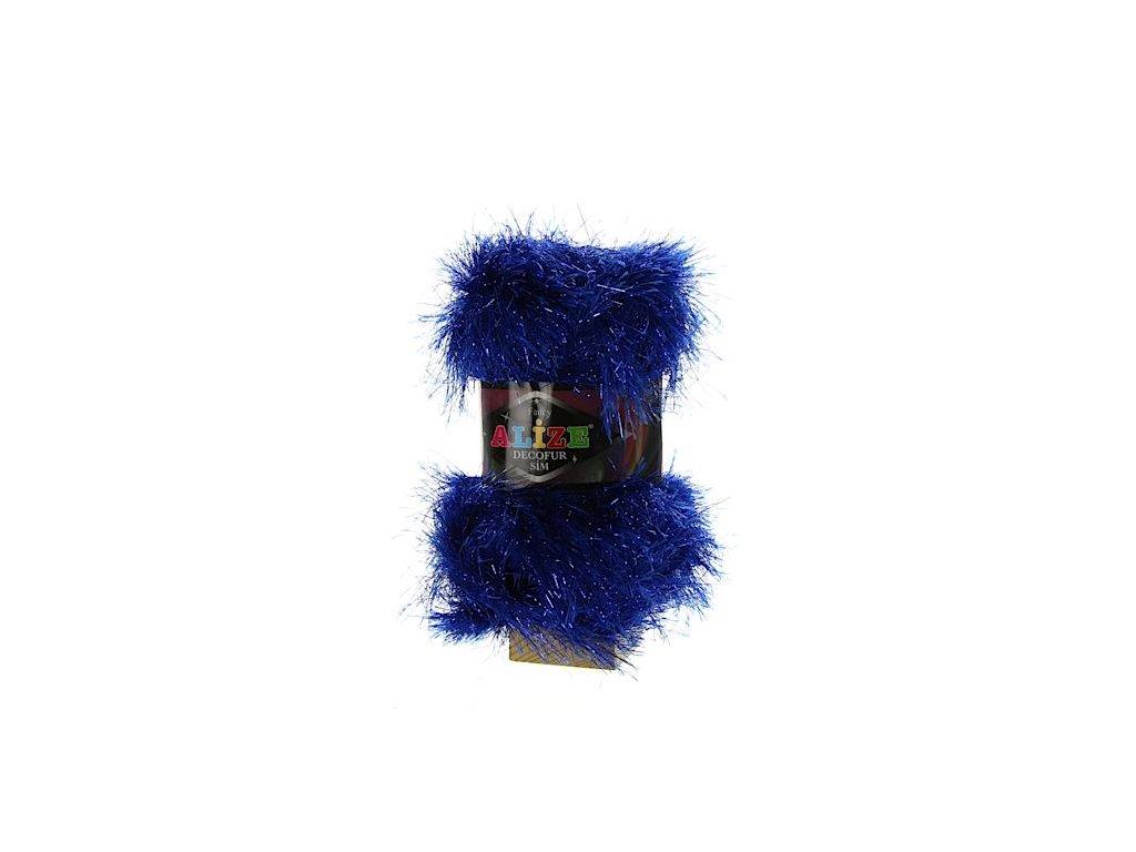 Decofur Sim královská modř 14101