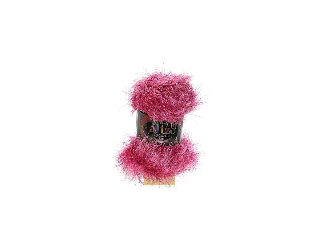 Decofur Sim růžová 9801