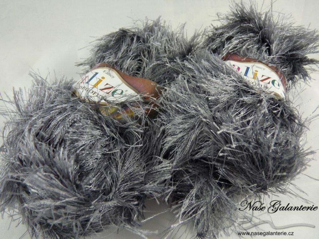 Decofur uhelná šedá 87