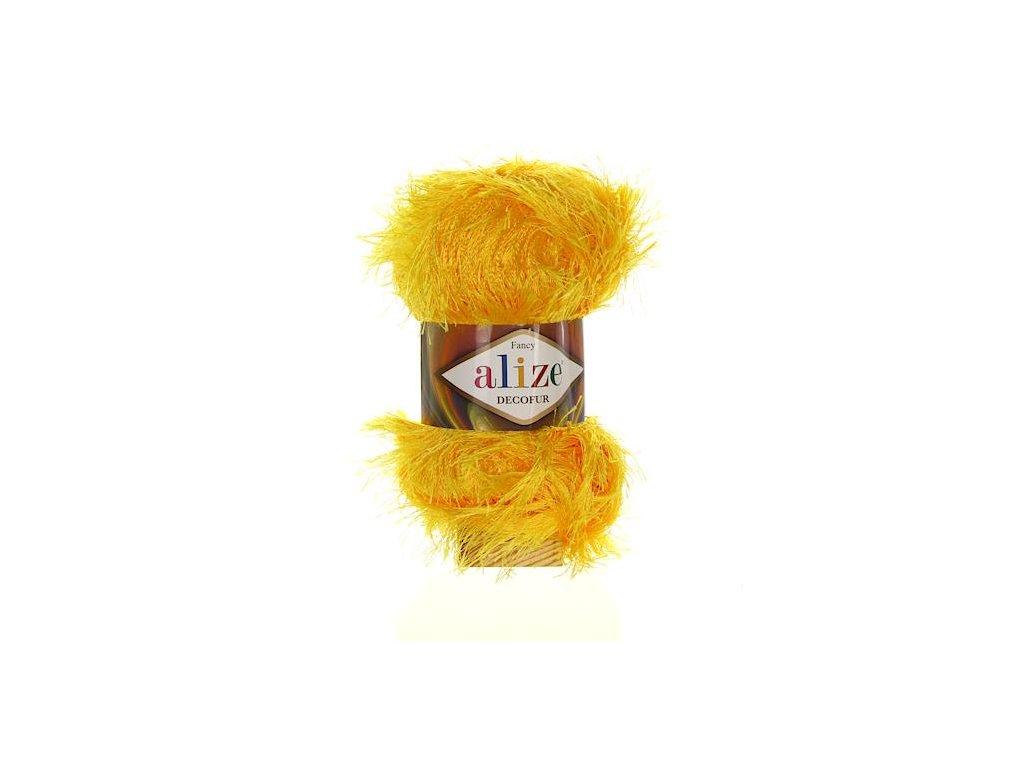 Decofur žlutá 216