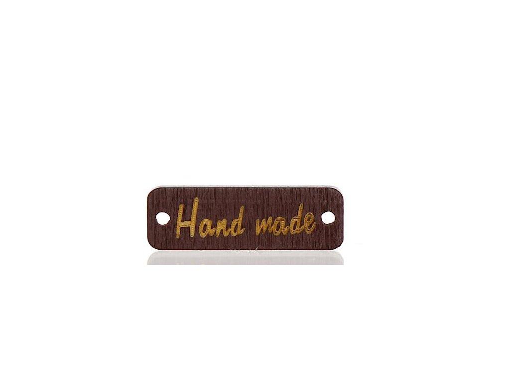 70068 HAND MADE OBDELNIK HNEDY