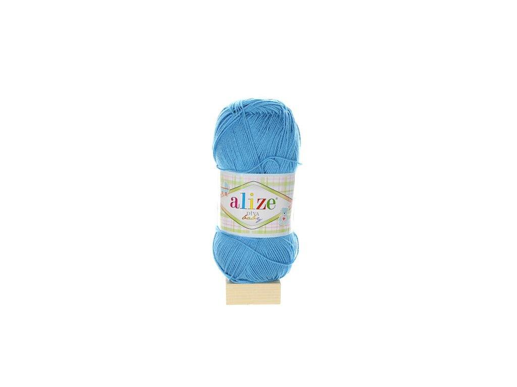 Alize Diva Baby tmavě modrá 24