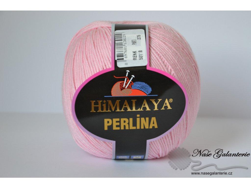 Perlina světle růžová 50118