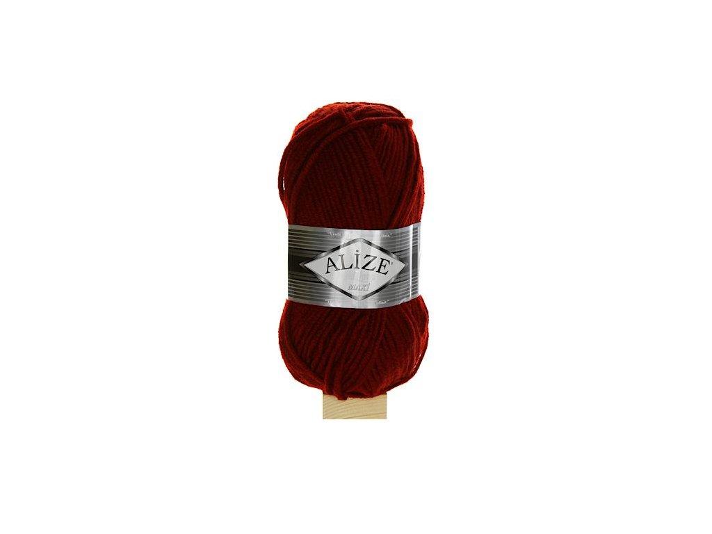 Superlana Maxi tmavě červená 538