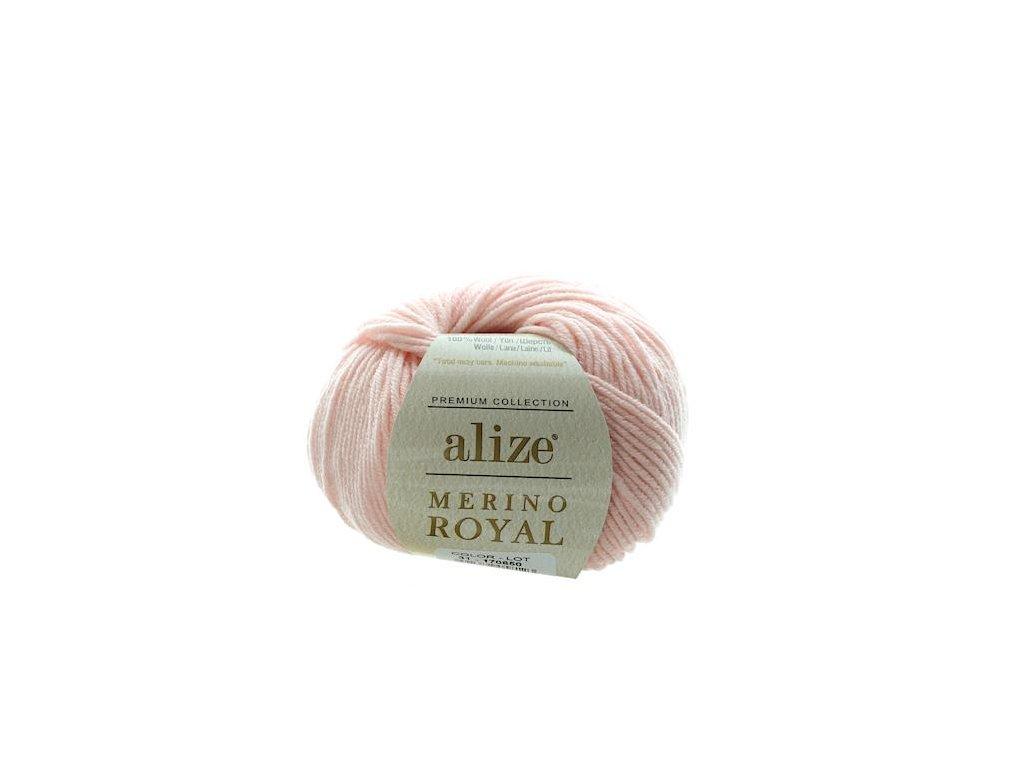 Merino Royal světle růžová 31
