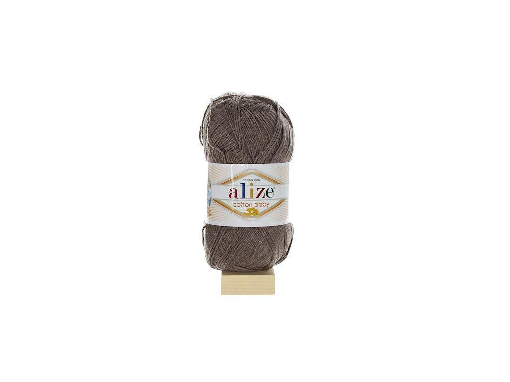 Cotton Baby Soft tmavě hnědá 240
