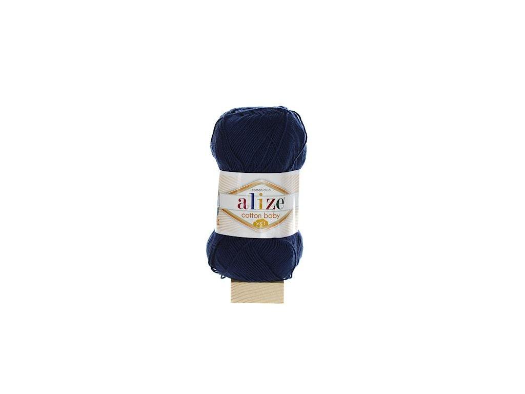 Cotton Baby Soft tmavě modrá 58