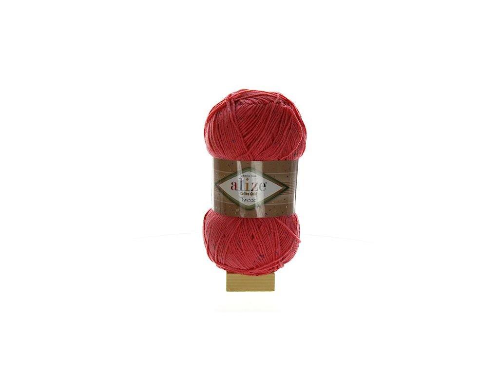 Cotton Gold Tweed cukrová růžová 33